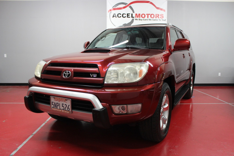 2005 Toyota 4Runner Sports Edition トヨタの人気SUV・サーフ
