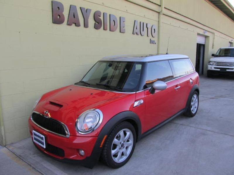 2008 Mini クラブマンS パノラマルーフ 可愛い赤のミニが入庫しました。ヨーロッパ車はベイサイドオートで!