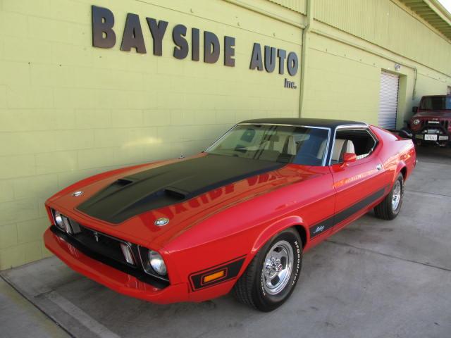 1973 Ford マスタングマッハ1コンクールコンデション 当時の新車時よりも綺麗な車です!