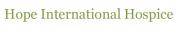 訪問介護 HOPE - International Homecare, Inc