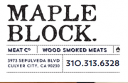 Maple Block Meat Co