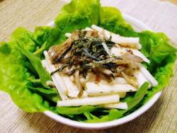 舞茸の和風サラダ